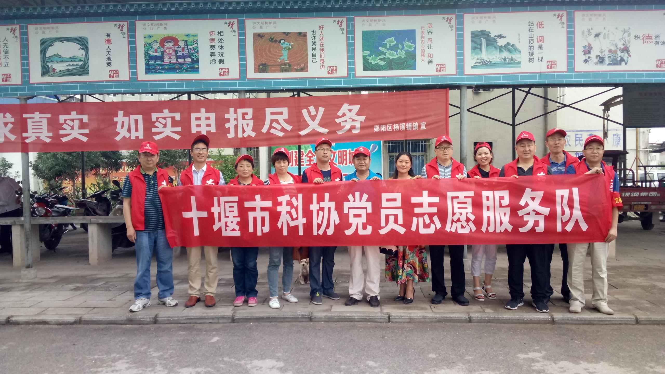 市科协党员志愿者在社区入口处合影留念.jpg